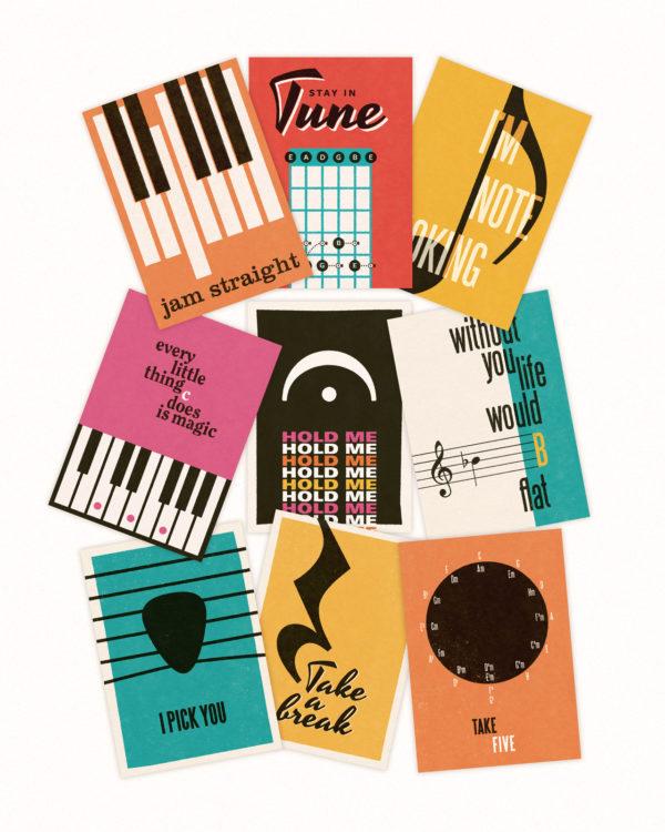 musik postkort 12