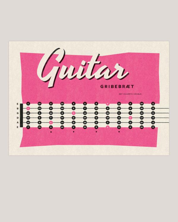 guitar gribebraedt musik plakat poster 3