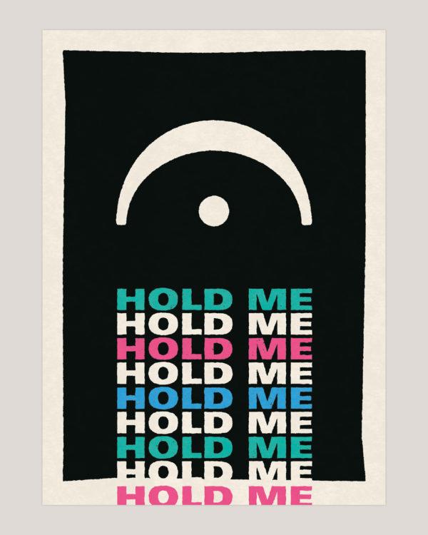 hold me musik plakat poster 3